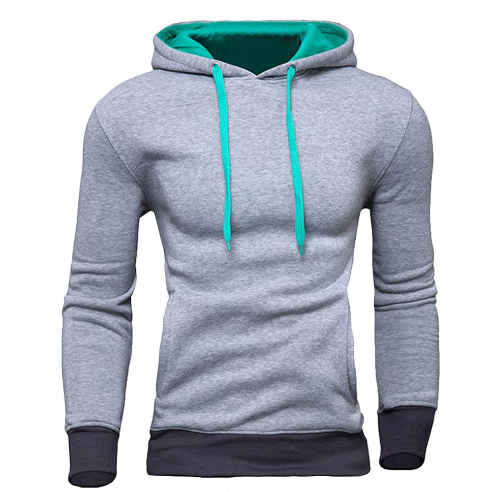 Men in hoodies