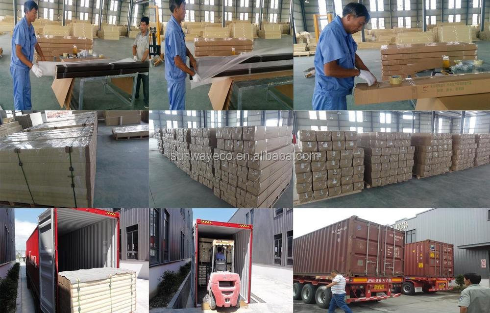 surface finished wpc door frame wood made in china(TCF-90C)
