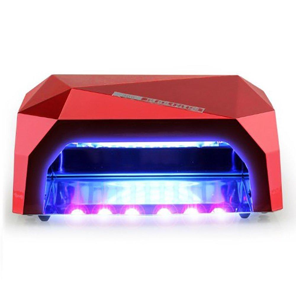 ETTG 36W Nail Dryer Professional Diamond Shaped CCFL & LED UV Nail Lamp & LED UV Nail Lamp (UV & LED 2 in 1 Nail Gel Lamp) Curing Nail Dryer for LED UV Gel Nail Polish
