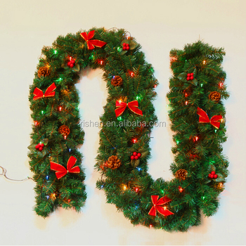 9ft 350tips Pvc Plastic Christmas Garland Christmas Arch Buy Blue Christmas Garland Outdoor Christmas Arches Artificial Christmas Garland Product On