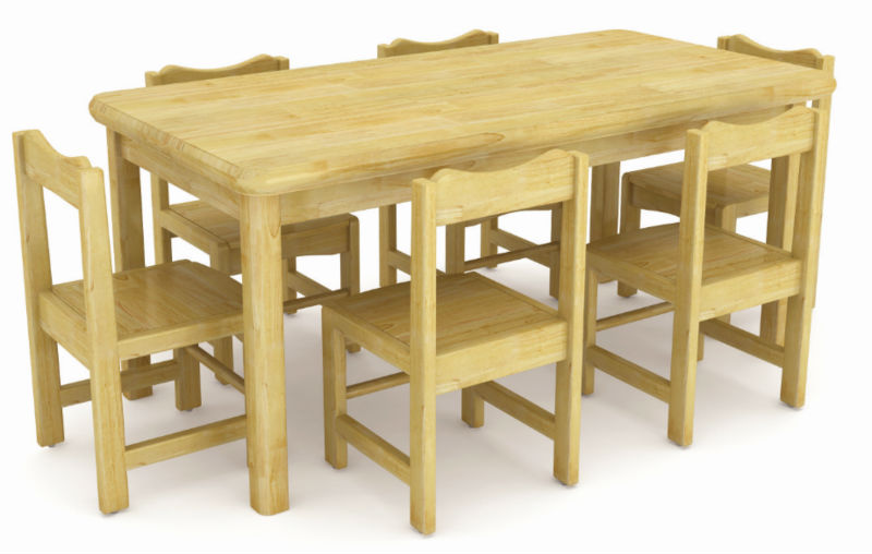 catchy collections of wooden table for kids