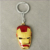 Popular Hip Hop Multicolored Carton Iron Man Key Chain