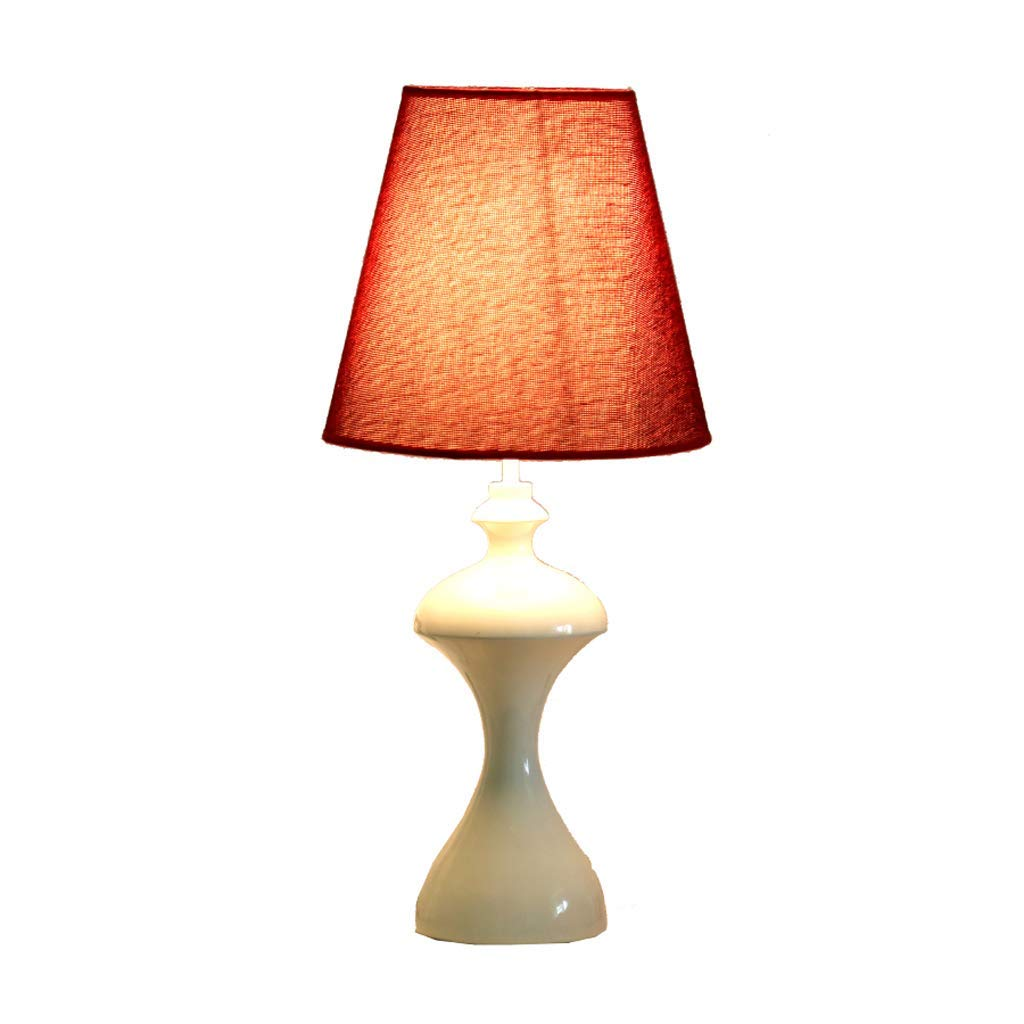 Simple Decorative Led Dimmable Table Lamp, Bedroom Bedside Lamp European Table Lamp Romantic Warm Table Lamp