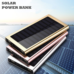 New design rohs super thin solar power bank 50000mah with 2 usb port for vivo phone