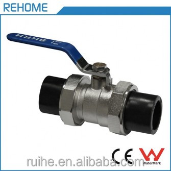 HDPE Pipe Fitting Socket Fitting Single Male Ball Valve