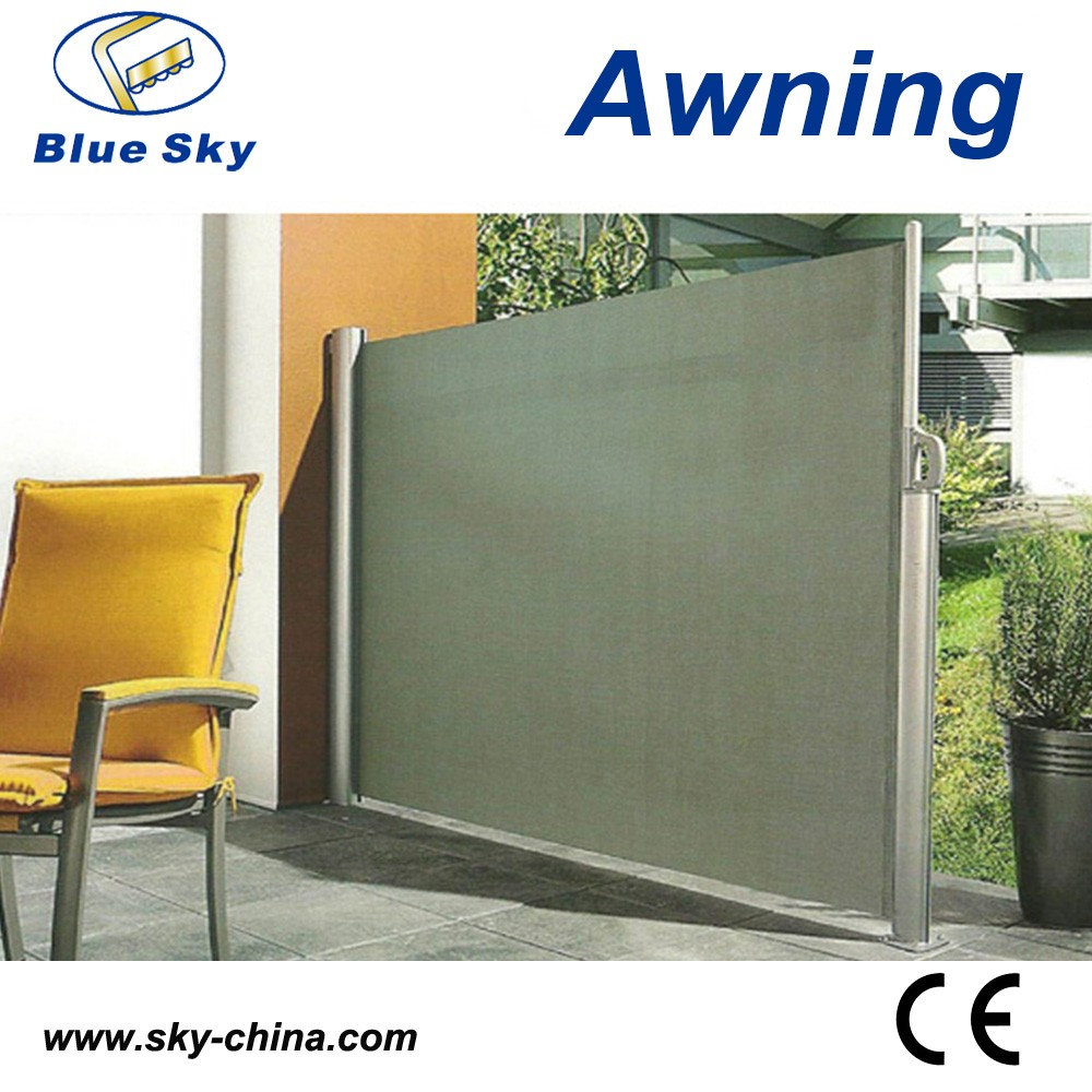 Retractable Side Wall Awning For Office Screen Buy Side