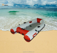 JS 2.3m long high qulity PVC inflatable boat for fishing