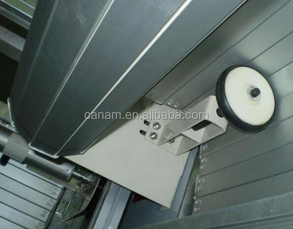 Commercial shop steel roller shutter door