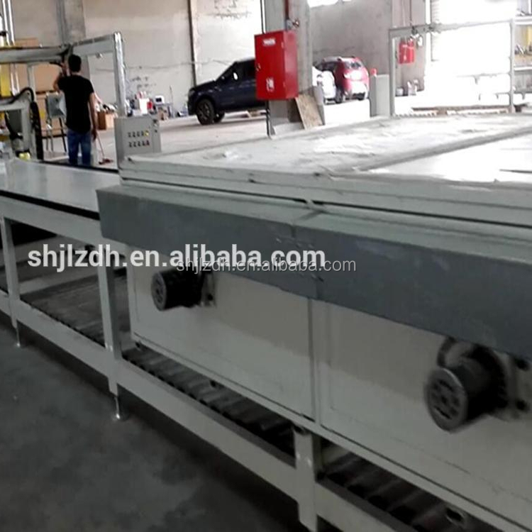 Solid surface production line for Shower Wall Panels and Trim