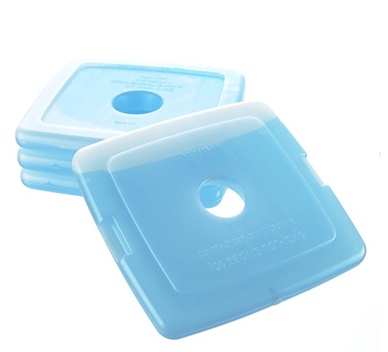 Cool Koelers Slanke Herbruikbare Gel Ice Packs voor Lunch Dozen, Lunch Tassen en Koelers