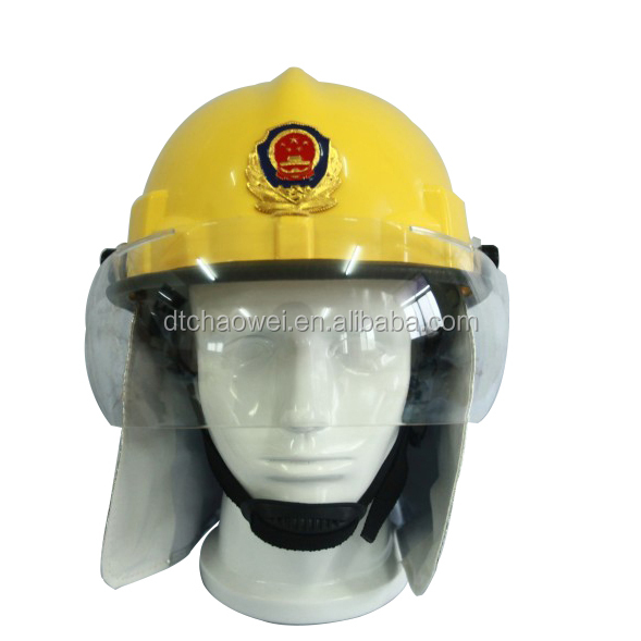 Flame Retardant Comfortable Wearing Fire Rescue Helmet