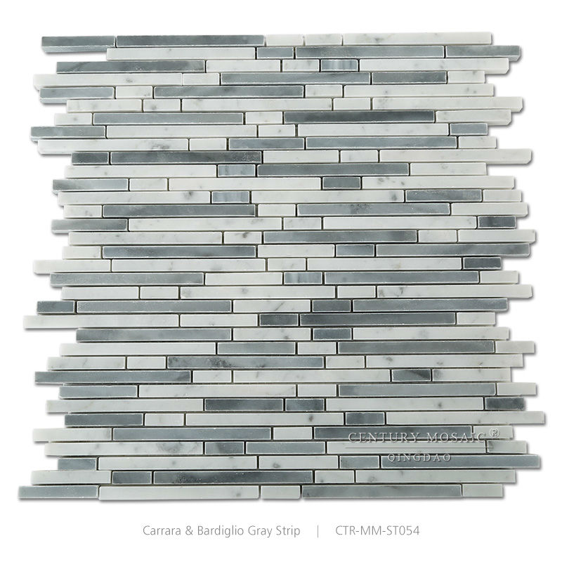 White Mix Gray Marble Bathroom Mosaic And Kitchen Floor Tile Pattern Samples