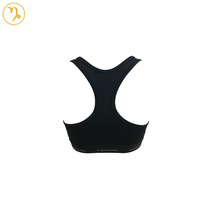 Polyester bodybuilding sports bra for ladies