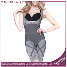 Bamboo Fibre Free Size Slimming Crotchless Full Body Shaper