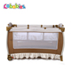 EN standard infant steel bed cot mini crib for baby