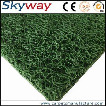 Factory Supplied Heavy Duty Plastic Floor Mats Pvc Coil Mat Black