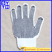 OEM cotton knitted driving hand gloves