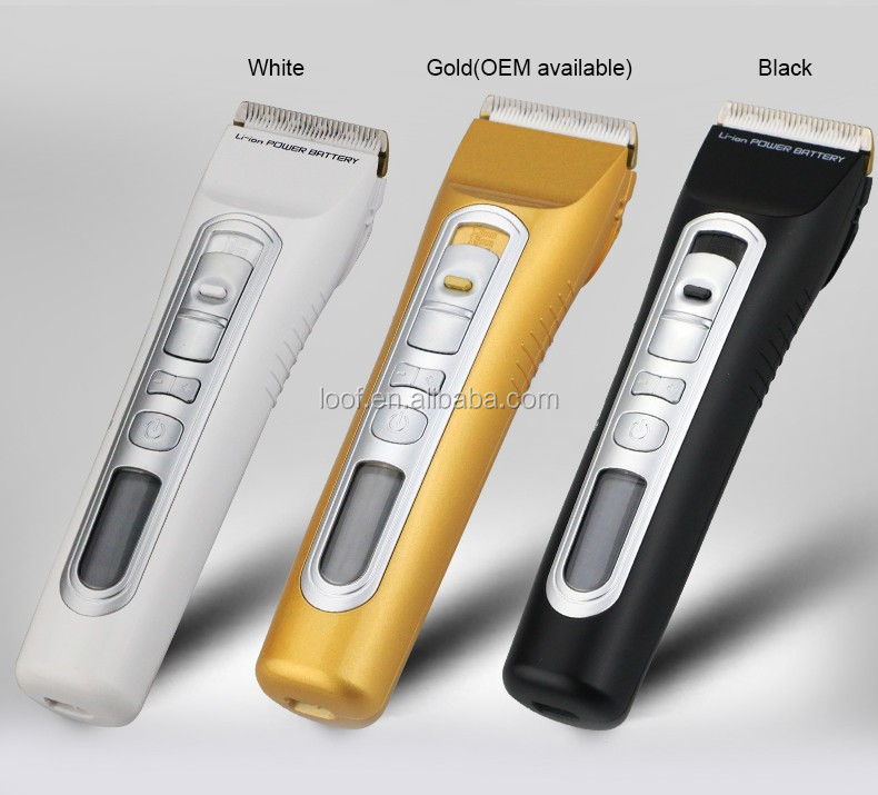 professional hair clippers mini low noise Quick charge rechargeable electric hair clipper
