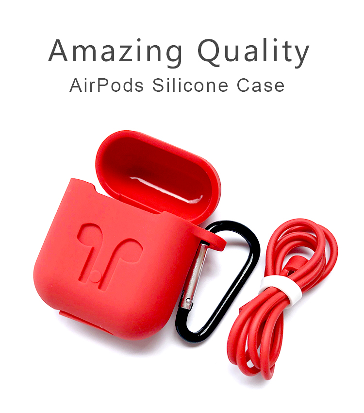 High Quality Silicone Protective Airpods Case