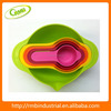 5pc Multi-colored Mixing Bowl Set Eco-friendly Dinnerware Set