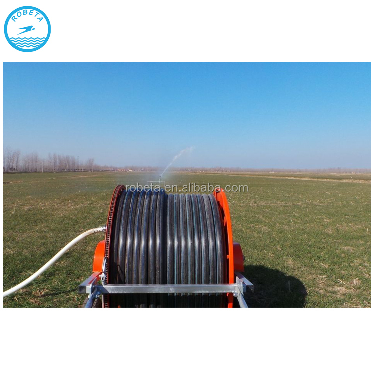 Travelling 50TX Hose Reel Irrigation Machine with Spay Gun