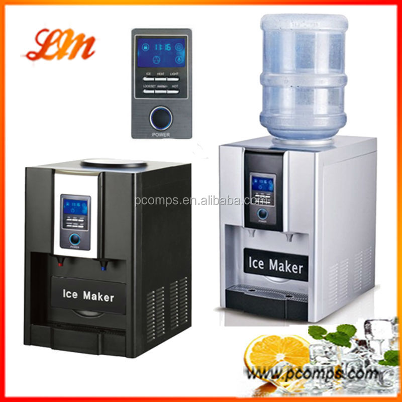 Portable Ice Cube Making Machine With Water DispenserFilling Water