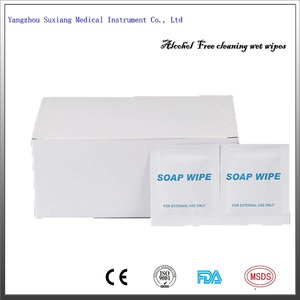 Disposable individual packaged OEM Hand Sanitizer wet soap Wipes