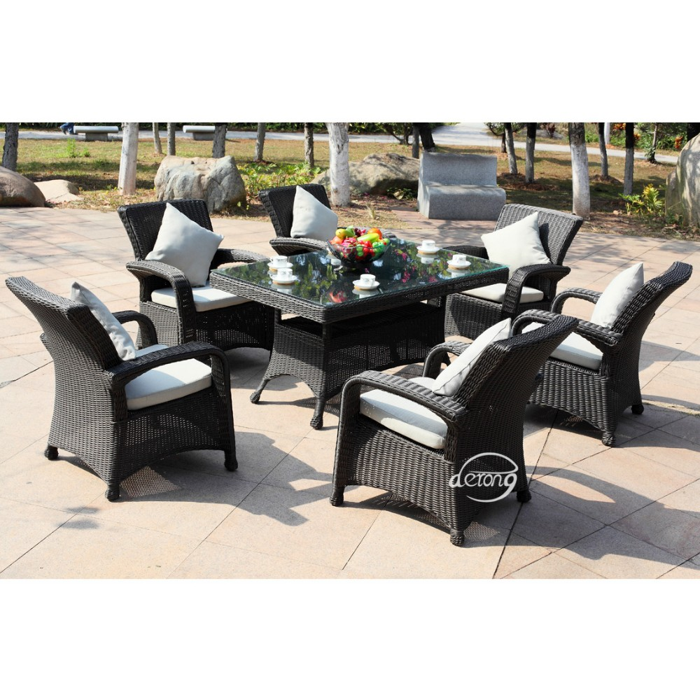 Wicker Rattan Furniture Set Rattan Garden Furniture Sale Rattan Patio  Furniture Outdoor Table And Chair Set - Buy Pe Rattan Outdoor Table And  Chair
