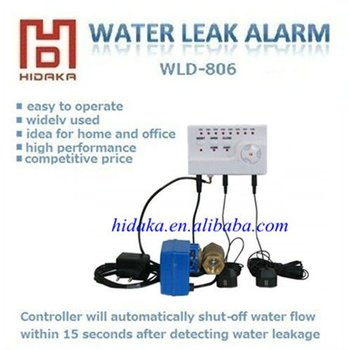 New Listing Japan Quality Water Leakage Detection Alarm System with Electric Automatic Shut-Off Valve 1'',1/2'',3/4''