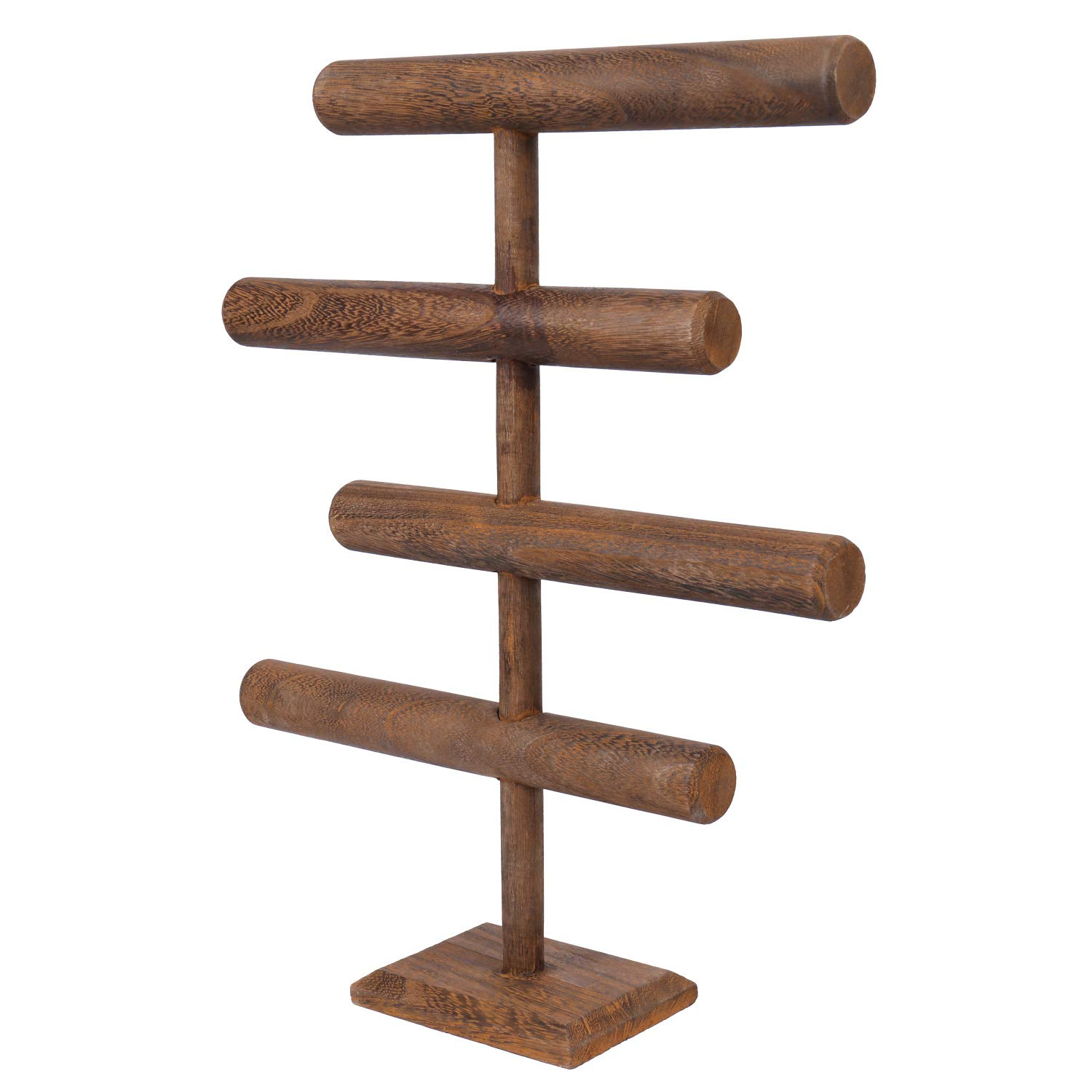 Wooden jewelry display holder pine wood rack for jewelry display