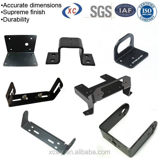 Customized U Shaped Bracket Metal Connecting Brackets For