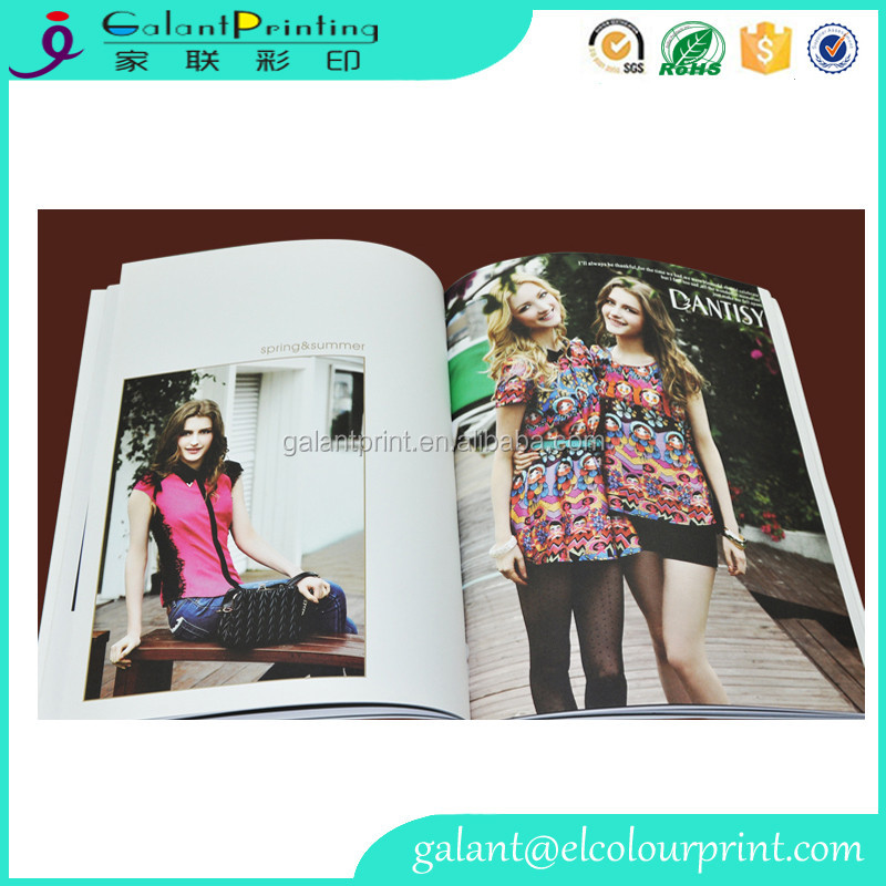 Soft spot UV offset paper printing art book, full color art book printing