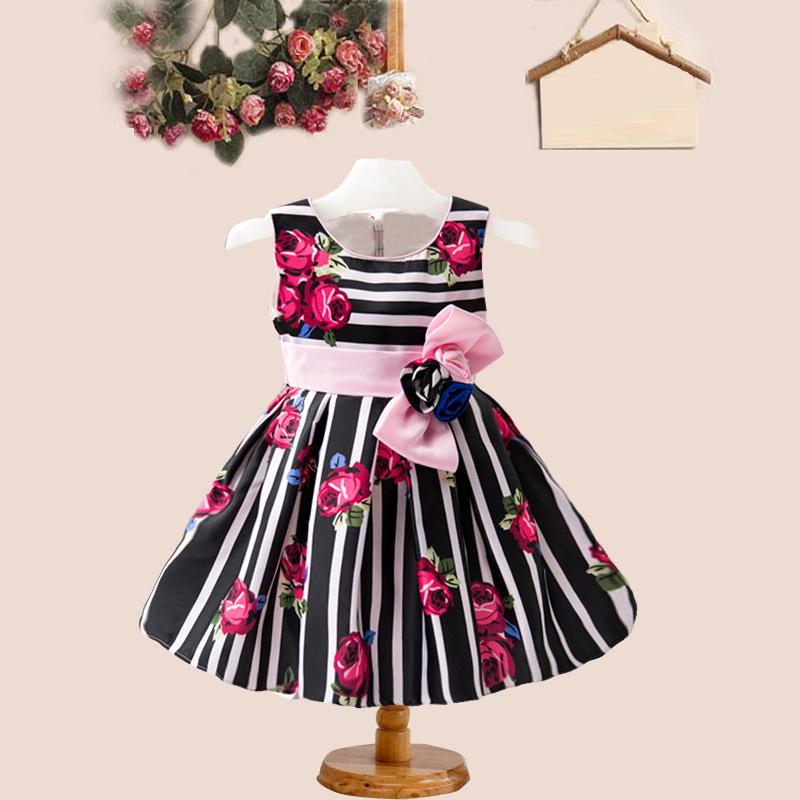 d45dabedc Nova Moda Bebê Recém-nascido Do Bebê Vestido de Verão Menina Princesa ...
