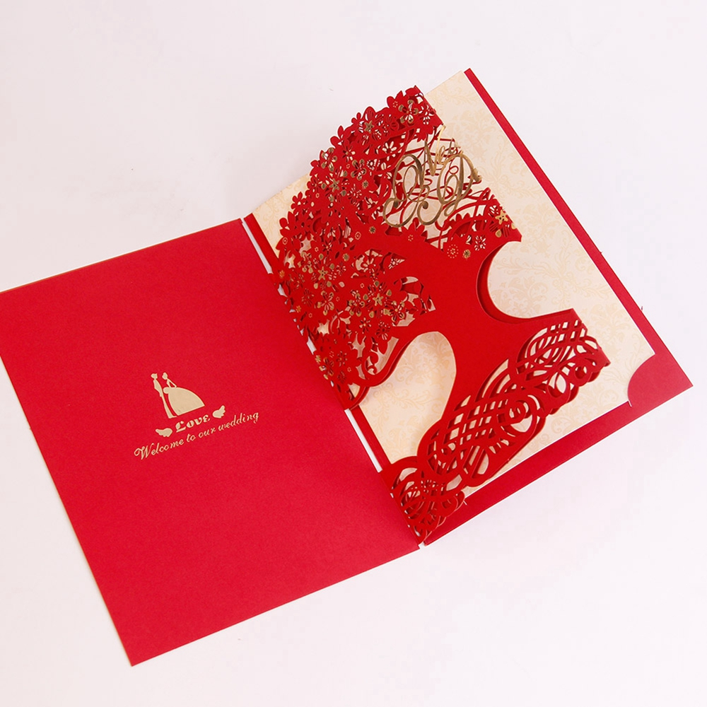 Enchanting Paper Lace Wedding Invitations Ornament - Invitations and ...