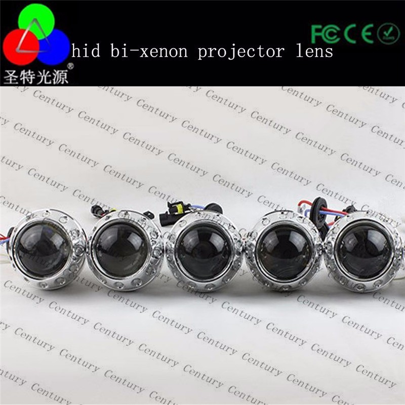 China supplier hid bi xenon projector headlight lens for car accessories led headlight for car