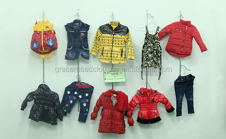 Second Hand Mixed Original Children Winter Wear Recycle Old Clothes