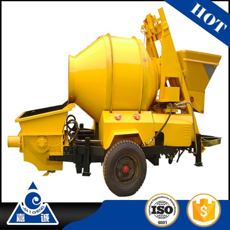 JZC350 portable concrete mixer with hopper's feeding jzc series for concrete machine