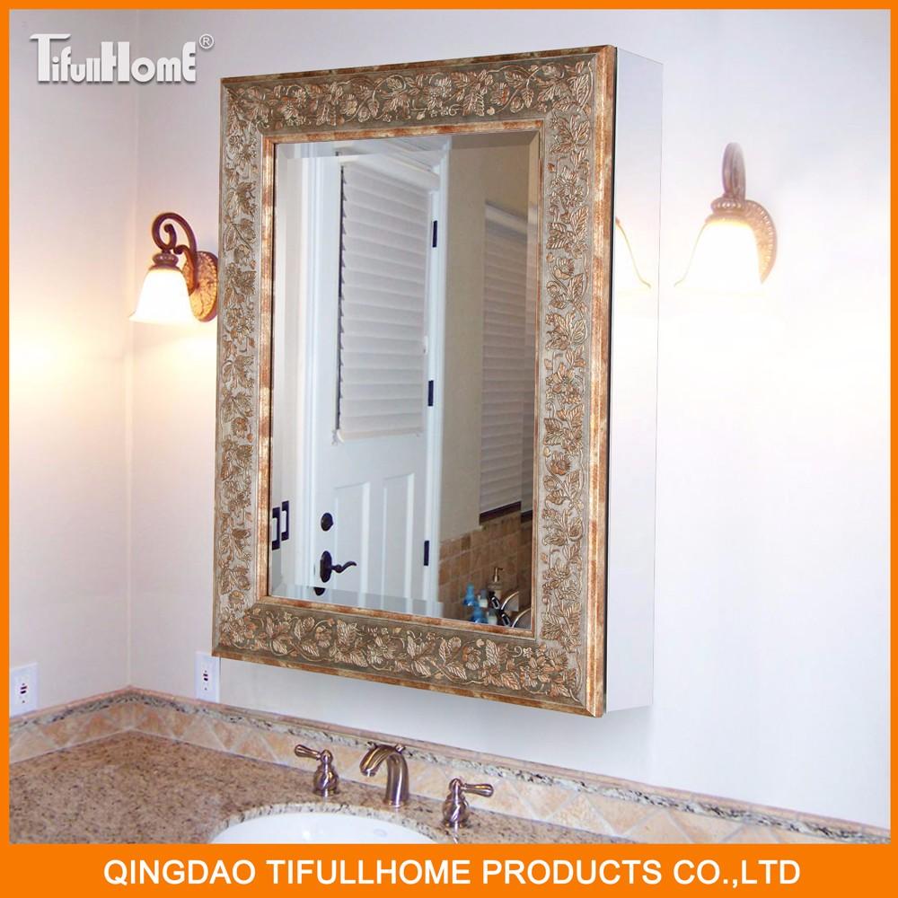 Modern Luxury Popular Style Bathroom Mirror Cabinet Buy