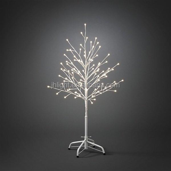 1.5m White Outdoor Led Christmas Twig Tree,Led Tree Uplighting,Led ...