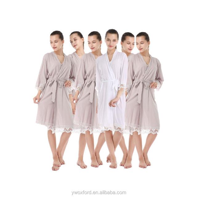 wedding robes bridesmaid-Source quality wedding robes bridesmaid ...