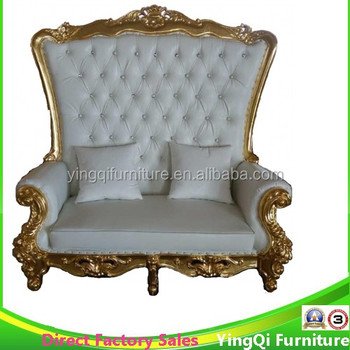 French Rococo Style Wedding High Back Sofa Chairs - Buy French Style  Wedding Chairs,Rococo Wedding Sofas,High Back Chairs Product on Alibaba.com