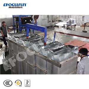 Best brine system transparent block ice making machine with clear ice
