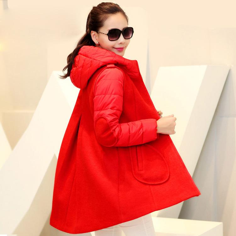 Высокое качество по беременности и родам беременность пальто для беременных женщин зимнее пальто одежды для беременных мода фирменный стиль розовый красный черный