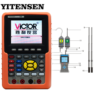 Contains a 3.5-inch true color LCD screen smart intelligent wireless high voltage voice phase checking instrument