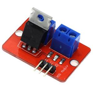Smart Electronics 0-24V Top Mosfet Button IRF520 MOS Driver Module for MCU ARM Raspberry Pi for DIY Kit