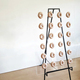 Gorgeous Clear Acrylic Donut Display Wedding Doughnut Wall with 24 Pegs