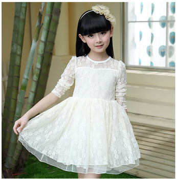 High quality frocks design long sleeve lace dress fancy girl flower high quality frocks design long sleeve lace dress fancy girl flower dress white red and black mightylinksfo