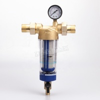 Brass Foreged Portable Tap Water Purifier pre filter for home