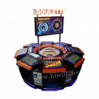 8 player Classic Edition Casino Game Intelligent Jackpot Electronic Roulette Machine Gambling Machine for Sale