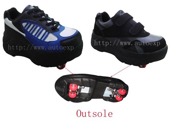 21f395b91dfe Four Wheels Shoes Skate Shoes - Buy Skate Shoes Product on Alibaba.com